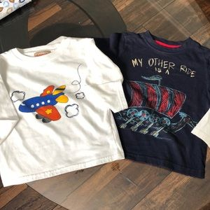 Other - 2 Long Sleeve 24 Month Boys T-shirt's